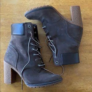 Timberland Candace Chunky Heel boots